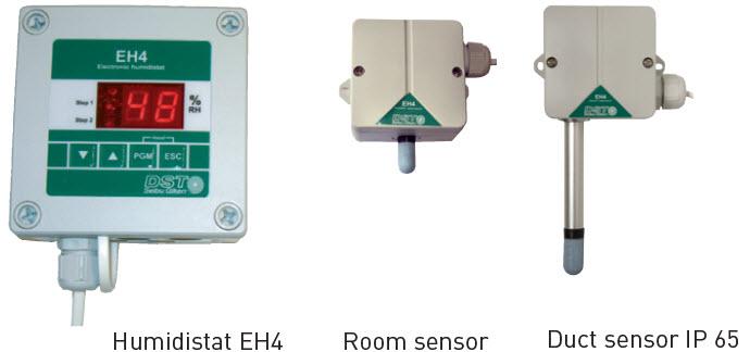 Elektronische Hygrostaat